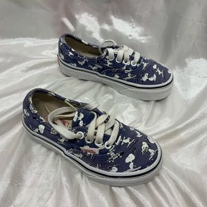 Snoopy Peanuts Skater Vans Shoes
